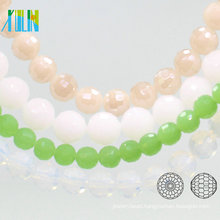 A5003#-5 96 Facetes Round Earth Glass Football Shape 10mm Disco Ball Crystal Beads Animation