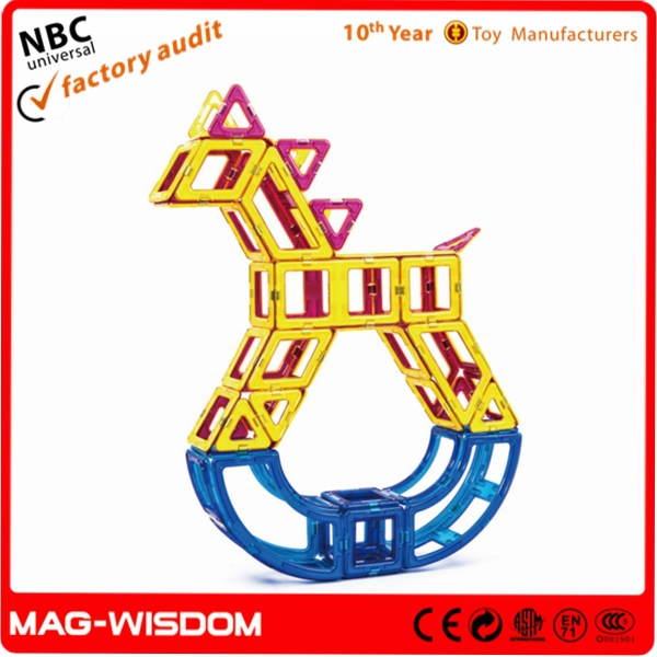 Magnetic Bricks Intellect Blocks Toys