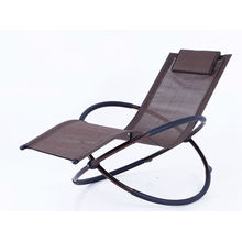 Popular Design for Garden Sun Loungers Steel folding Rocking chair export to Swaziland Suppliers