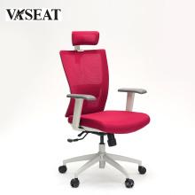 Cadeira do escritório da sala de reunião cadeira confortável da cadeira da cadeira do escritório da parte traseira da tela alta com o braço ajustável