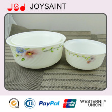 Tazón de cerámica suministrado por la fábrica de China para ensalada al por mayor Bowl