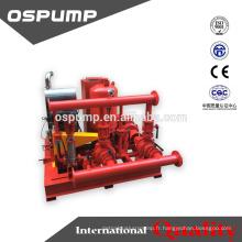 Pompe de lutte contre l'incendie de pompe de feu de bonne qualité