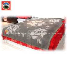 Yak Wool Jacqard Couverture / Tissu Cachemire / Laine Camel Textile
