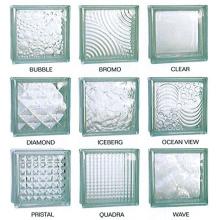 190*190*80mmsolid стеклоблоков