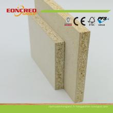 Usine chinoise a utilisé le carton stratifié de panneau de particules stratifié / conseil de meubles Prix pour la vente (9mm-50mm)