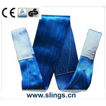 8tx10m poliéster webbing sling fator de segurança 7: 1