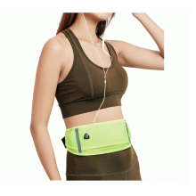 Selling well deisgn light weight outdoor sport lycra waist bag for adults with reflective article waist bag