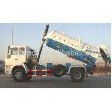 Chine réservoir d'aspiration des eaux d'égout 8m3 GJ5161GXWZJ à vendre