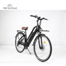 Bicicleta elétrica nova barata da bicicleta do modelo EN15194 com bateria de panasonic