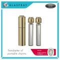 SCALA Twist and Spray 20ml Shiny Gold Refillable Perfume Bottle