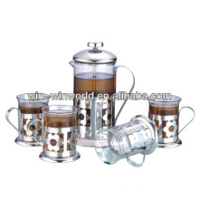 Custom Stainless Steel French Press Gift Set Wholesale