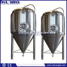 Volume diferente de cerveja fermentador cônico usado para cervejaria