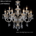 cognac glass chandelier european candle lighting