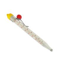 Termómetro de cocina de caramelo de vidrio de cocina de tubo de vidrio