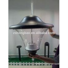 Hongbao HBF-074 Lumière jardin LED avec jetons BridgeLux 3000K 35watt 45watt 60watt 4M lampadaire