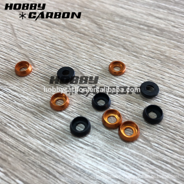 High quality & Hot Sale M3 M5 M8 Countersink Washer Anodized Aluminum Washer