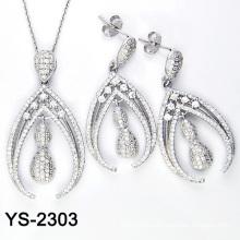 Мода Ziconia ювелирные изделия Set 925 Серебро (YS-2303, YS-2304, YS-2311, YS-2312, YS-2320, YS-2321)