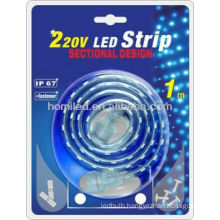 high-voltage SMD3528 led strip 5meters/kit