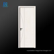 European standard double panels swing style doors for house wood veneer door GO-EG01