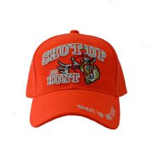 Gorra de béisbol del bordado de acrílico de la moda en el color anaranjado (GKA01-F00064)