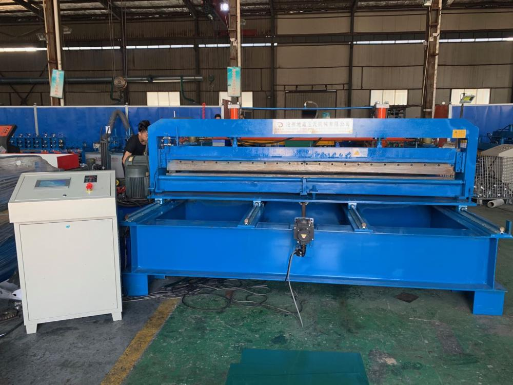 Flatten Steel Plate Machine