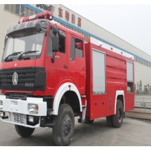 Best North Benz Fire Engine Dry Powder Fire Fighting Truck