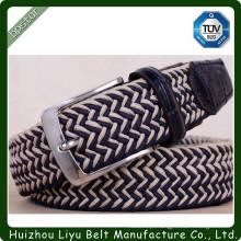 Cinto de tecido têxtil para homens de moda