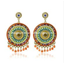 Trendy Bohemia Style Resin Stone Earring (XER13090)