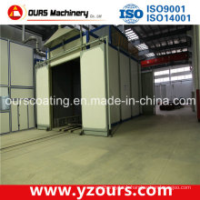 Professional Spray Booth with Auto Painting Machine