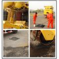 Road pothole repairing machine