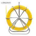 "3/8 ""50FT glasfiber gul kanal rodder"