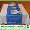 Tissu non-tissé de pp pour le linge de table (SS 07)