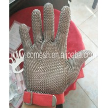 Anti Cutting Stainless Steel Mesh Safety Gloves