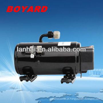 motor electrico kit de coche R134A 12v/24v/48v aircon compressor da c.c. para o condicionador de ar mini para carros 12v