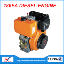 electric start diesel engine parts 186FA with the best price