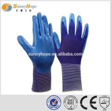 Sunnyhope размер 9 безопасность Рабочие резиновые покрытые перчатки