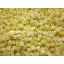 Cuillère à la pêche jaune gelée (5X5mm et 10X10mm)