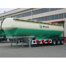 China for Bulk Cement Tank Trailer Tri-axle Silo Tank Semi-Trailer export to China Macau Suppliers