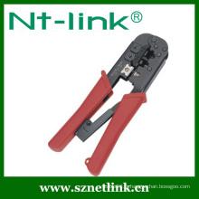 Outil de sertissage de câble réseau à cliquet