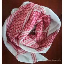 complet dans les spécifications yashmagh coiffe arabe écharpe rouge à vendre