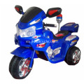 Baby Electric Ride en motocicleta