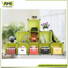 Caja de almacenamiento barata de Armoire del dormitorio Caja de almacenamiento plástica de los niños
