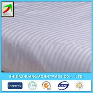 full cotton 40s 250T stripe hotel cloth