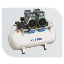 Ce/ISO Approved Hot Sale Medical Dental Oil-Free Air Compressor Kj-1600)