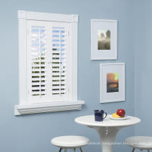 Wholesale Excellent Quality Good Prices Custom White Coated Lowes Interior Shutters