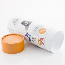 Candy Paper Round Presentförpackning Med Rolled Edge