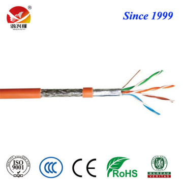 Konduktor Twisted Conductor dan PE SFTP Cat5e Cable