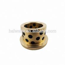 Roulement à huile 4040 à billes en bronze fritté, palier sans armature 40 * 44 * 40mm