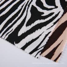Zebra Stripes Jersey Têxteis Tecido Impressão Digital