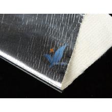 Tejido de vidrio recubierto de aluminio